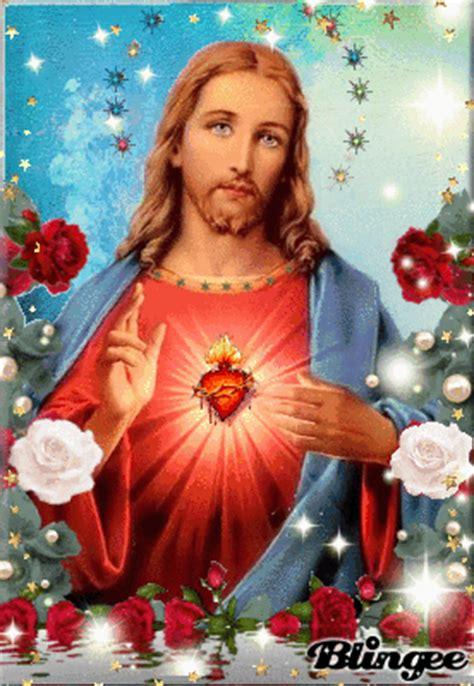 ver imagenes de jesucristo gratis ver imagen de jes 250 s en medio de lindas rosas de color rojo