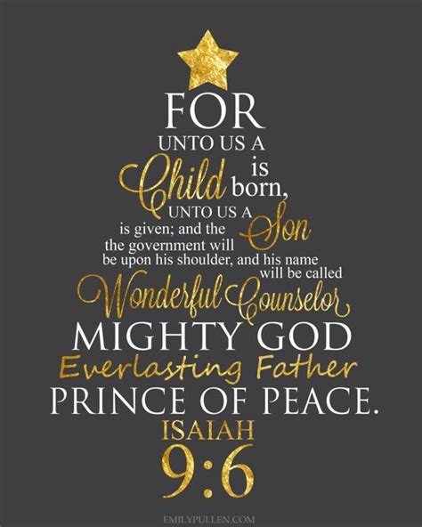 isaiah      child  born  images christmas quotes  child  born