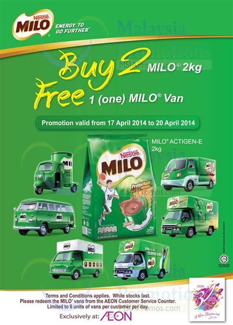 list  milo related sales deals promotions news jan  msiapromoscom