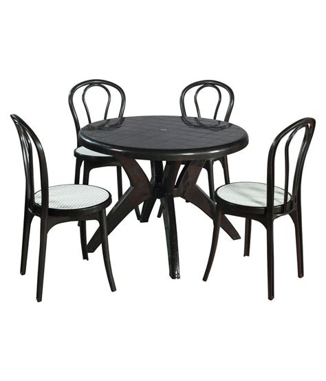 Supreme Set Of 4pearl Cane Without Arm Chair 1marina Supreme Dining Table