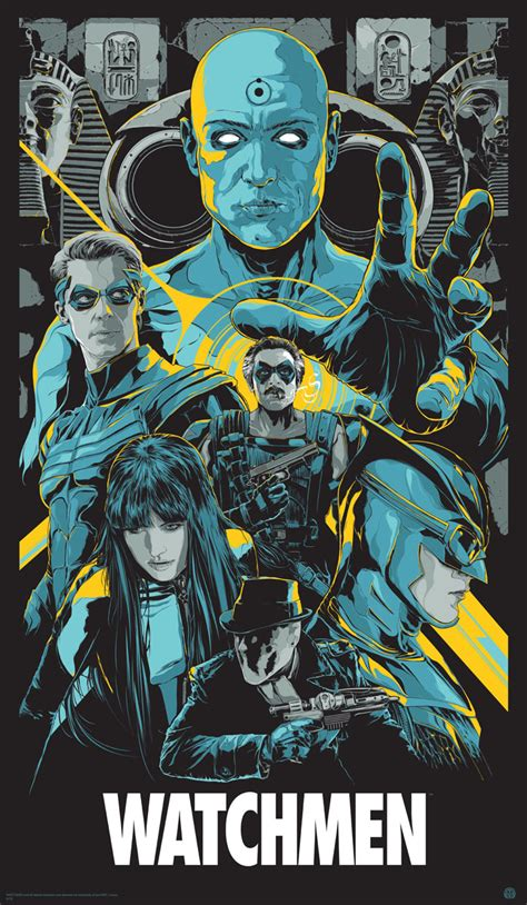 watchmen art of the movie posters ken taylor