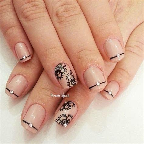 lace pattern nails 55 most beautiful lace nail art designs