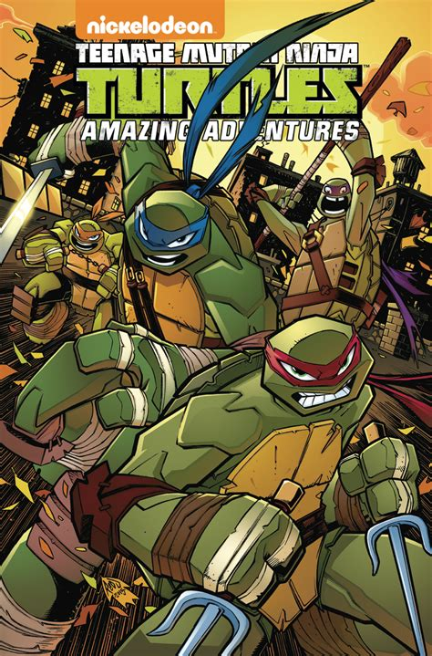 pulling seams the adventure volume 1 books may160425 tmnt amazing adventures tp vol 02 previews world