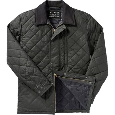 Filson Quilted Jacket by Filson Quilted Mile Marker Jacket S Backcountry