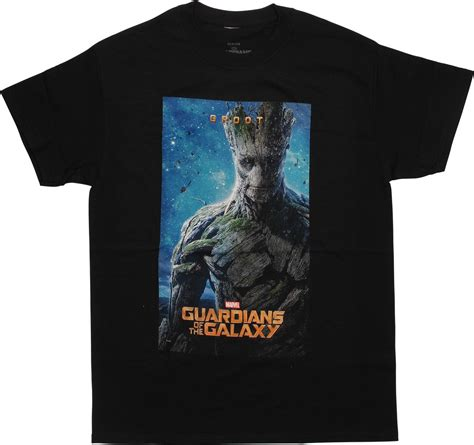 T Shirt Pria Groot Guardians Of The Galaxy 1 guardians of the galaxy groot poster t shirt