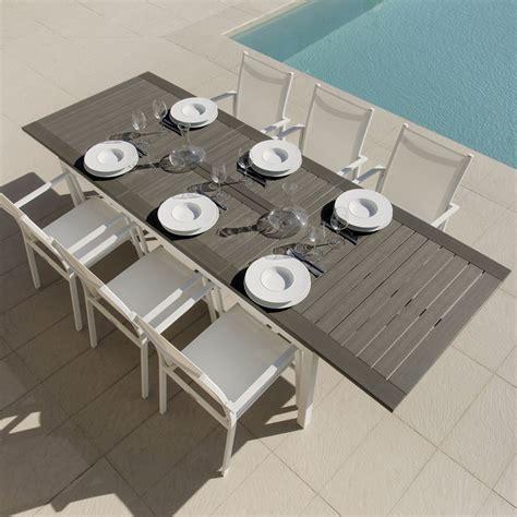 tavolo da esterno allungabile tavolo allungabile da giardino di design carlos talenti
