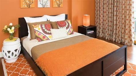 da letto arancione colore arancione