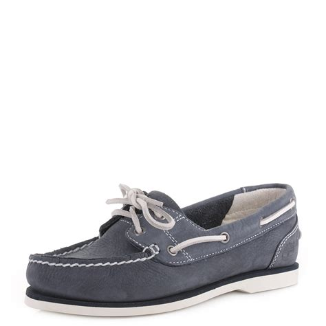 timberland boat shoes ladies womens timberland classic unlined navy leather boat deck