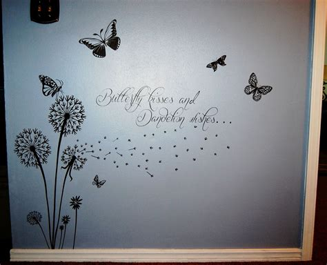 butterfly kisses tattoo designs butterfly kisses and dandelion wishes vinyl projects for