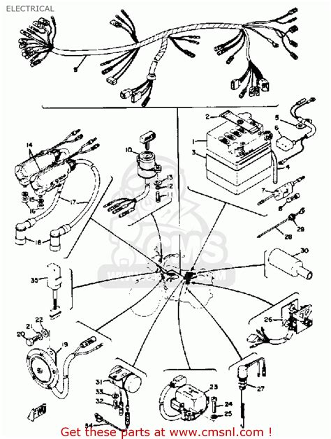simple wiring diagram for a 1973 yamaha rd 250 28 images