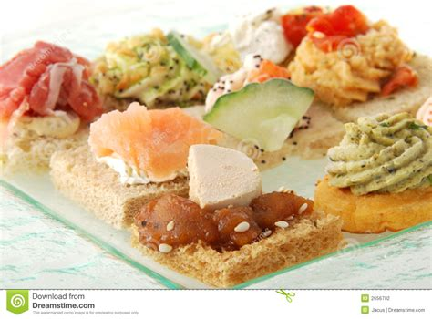 canape appetizer appetizer canape stock photography image 2656792