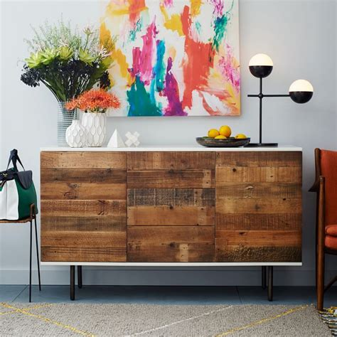Ikea Besta Wood Ikea Hacks Diy Reclaimed Wood Buffet