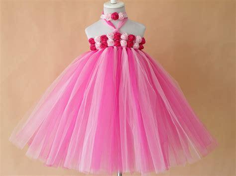 Handmade Tutu Flower Dresses - new bright color flower tutu dress retail handmade