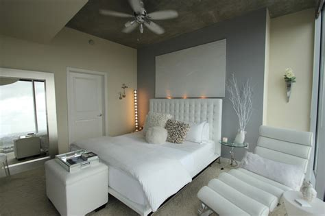 modern white bedroom modern bedroom other by