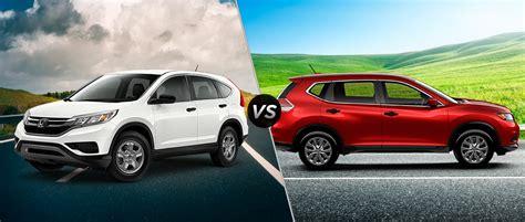 Nissan Rogue Vs Honda Crv by Rogue Versus Crv Autos Post
