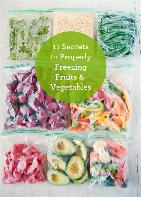 Living Well 11 Secrets To Properly Freezing Produce How To Freeze Garden Vegetables