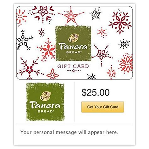 My Panera Gift Card - awardpedia panera bread gift card 25