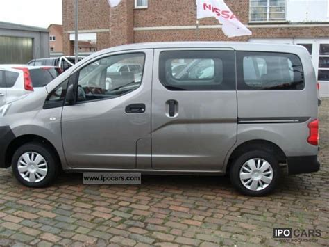2011 nissan nv200 combi premium 7 seater car photo and specs