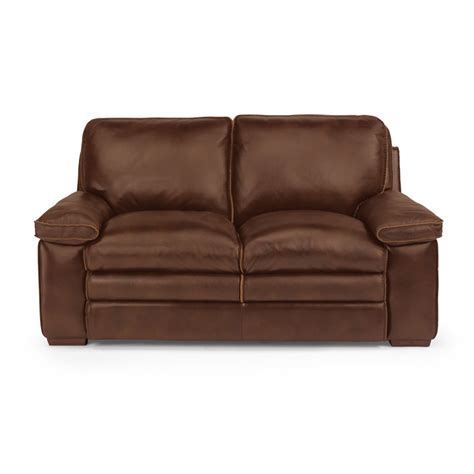 flexsteel penthouse sofa flexsteel 1774 20 penthouse leather loveseat discount