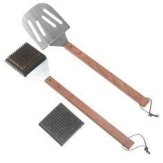 Backyard Grill Oversized Bbq Spatula Grills Outdoor Cooking Barbecue Utensils On