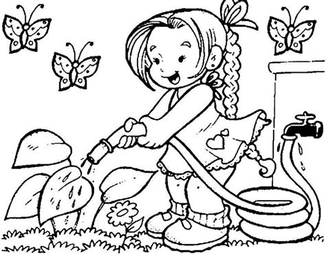 kids color spring coloring pages for kids coloring lab