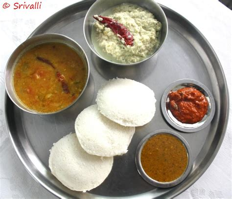 cooking 4 all seasons traditional breakfast typical south indian style 2