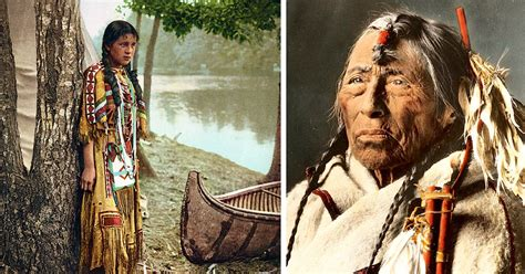 140 year old pics show native americans before and after u201cforced native americans on