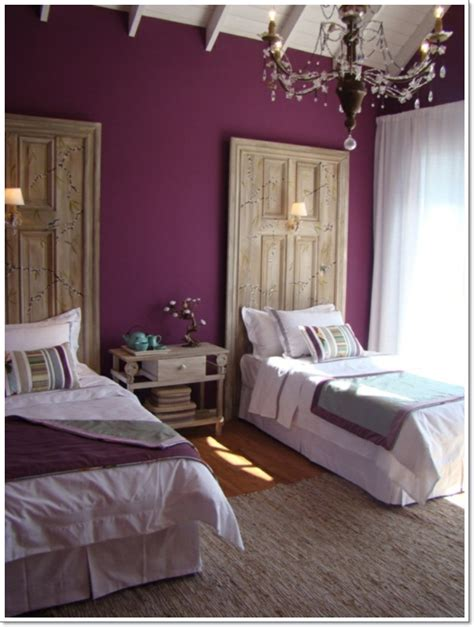 purple walls 35 inspirational purple bedroom design ideas