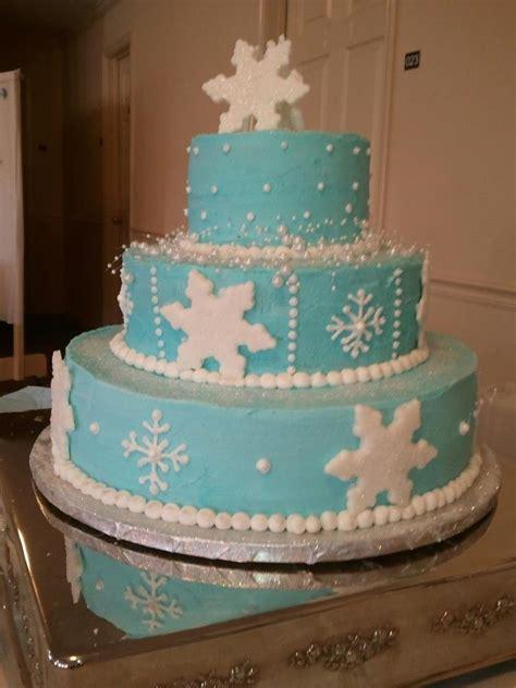 winter themed quinceanera cakes winter wonderland cake my cakes pinterest winter