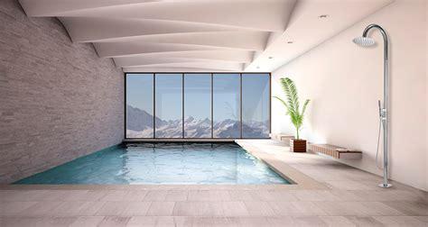 docce bossini ambientazioni colonne piscina bossini docce
