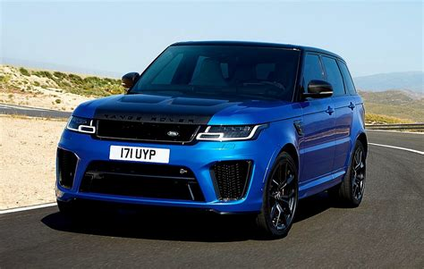 land rover sport 2018 2018 range rover sport lineup revealed