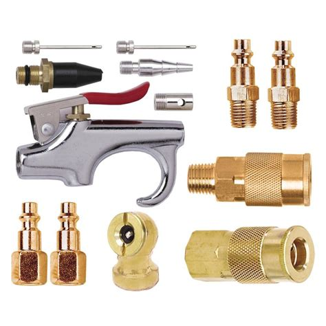 air compressor accessory kit parts inflator set 13 brass by husky ebay