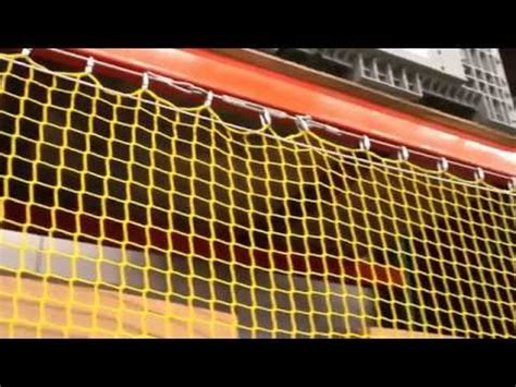 Racking Nets by Safety Netting Elevating Rack Guard Incord