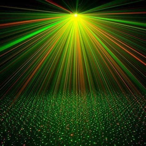 Lazer Lights by Worldwide Mini Projector R G Dj Disco Light Stage