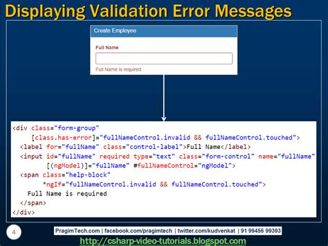 angular pattern validation message sql server net and c video tutorial displaying angular