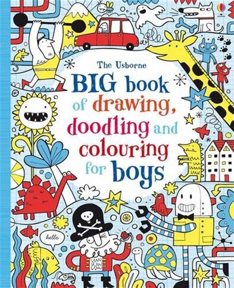 libro the usborne book of libro drawing doodling and colouring girls usborne drawing doodling and colouring di lucy