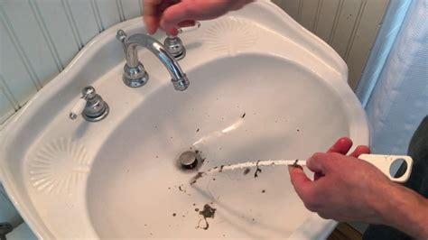 Ways To Unclog A Bathroom Sink - an easy way to unclog a sink or shower drain zip it