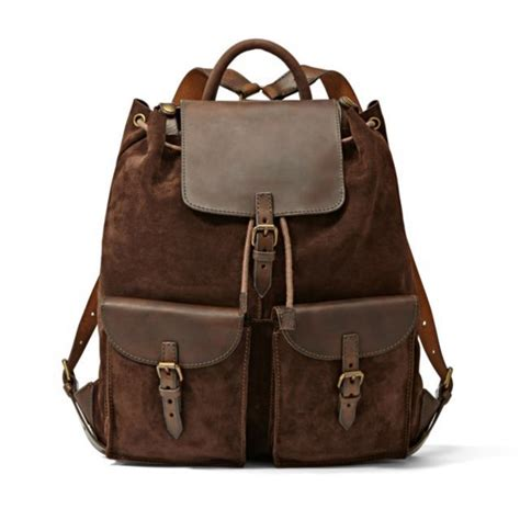 Fossil Back Pack fossil brown leather backpack style backpacks