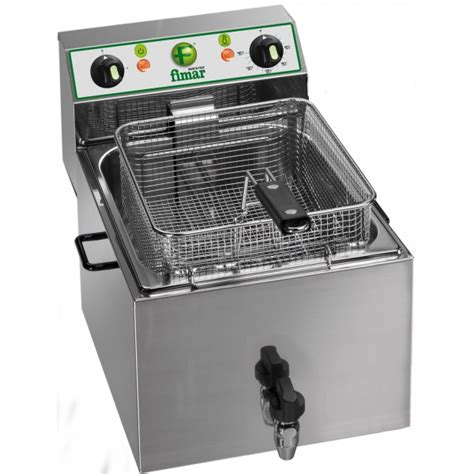friggitrice da banco friggitrice professionale elettrica da banco vasca da 8 lt