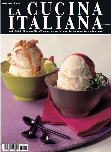rivista cucina italiana la cucina italiana sfiziosi accostamenti