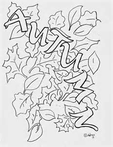 coloring fall leaf autumn leaves coloring pictures images
