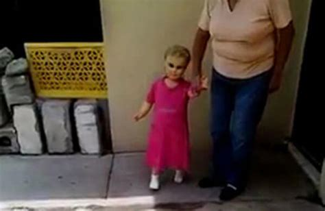 annabell walking doll this viral of a creepy walking doll has terrified