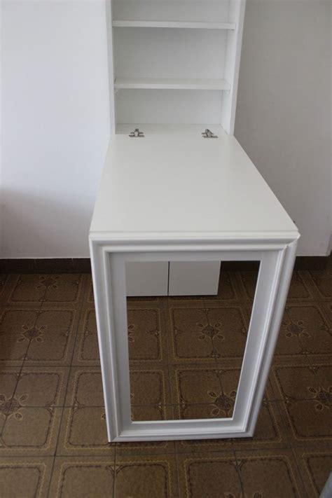 escritorios plegables ikea escritorio mesa plegable pared con espacio de guardado mesas