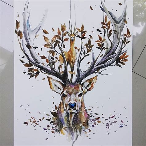 watercolour tattoo bali good morning bali quot natural spirit quot watercolors on