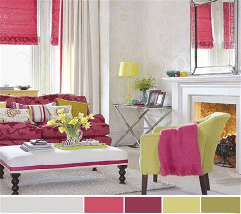 green and pink living room ideas 7 purple pink interior color schemes for decorating