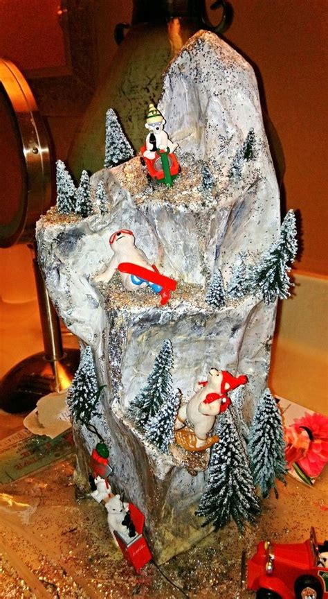 How To Make A Mountain With Paper Mache - 65 best images about decoupage on make paper