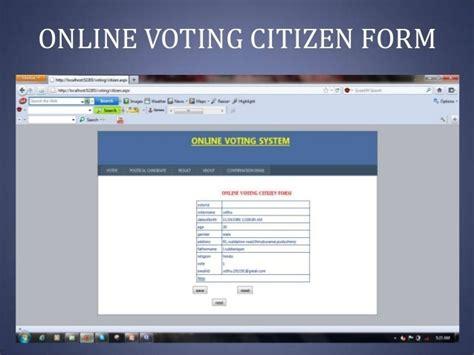 Website Templates For Voting System | democrazia diretta online il tema 232 l identit 224 digitale