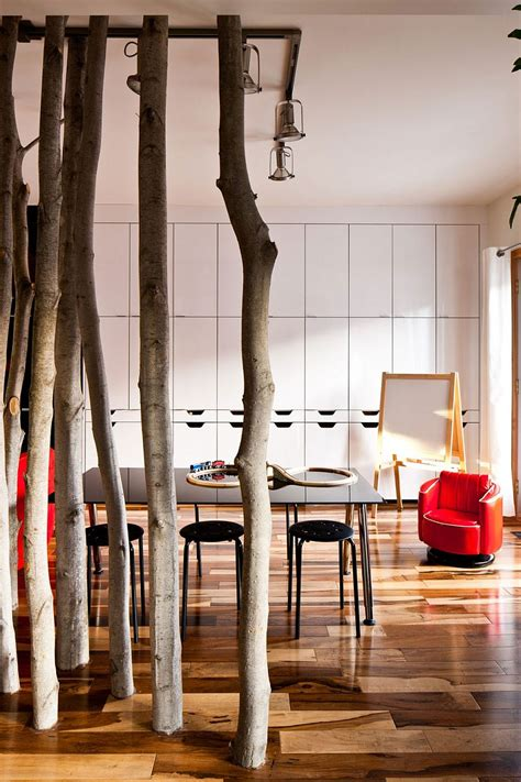 chic montreal home  pops  color  textural beauty
