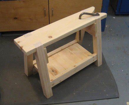 traditional woodworking projects sawbench by mattsanf lumberjocks woodworking