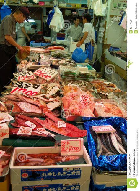 central wholesale tsukiji central wholesale market tokyo editorial photo